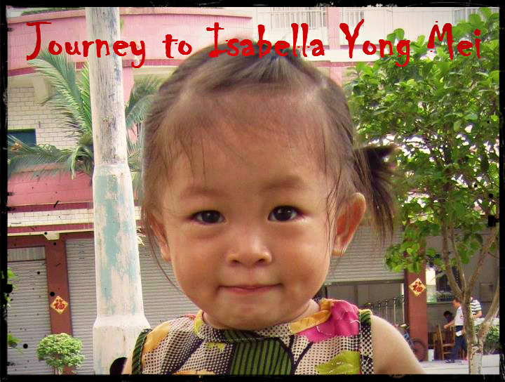 Our Journey to Isabella Yong Mei
