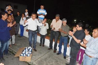 Gobernador Ramón Guevara atendió necesidades en la parroquia Mesa Bolívar