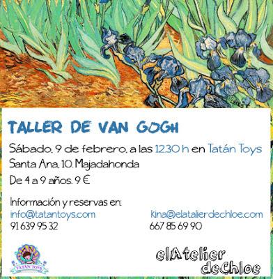 el Atelier de Chloe - Taller de Van Gogh