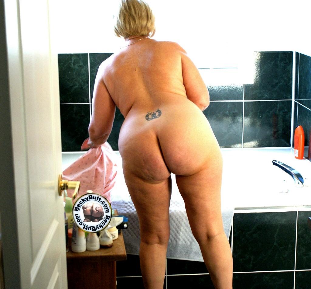 sexy girl putting thong