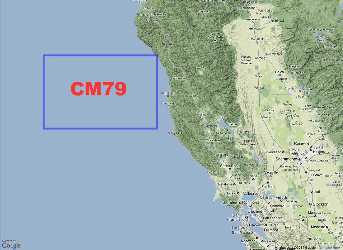 KBWIA Amateur Radio CM Grid Expedition - Us maidenhead grid square map