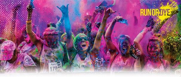 colourful run
