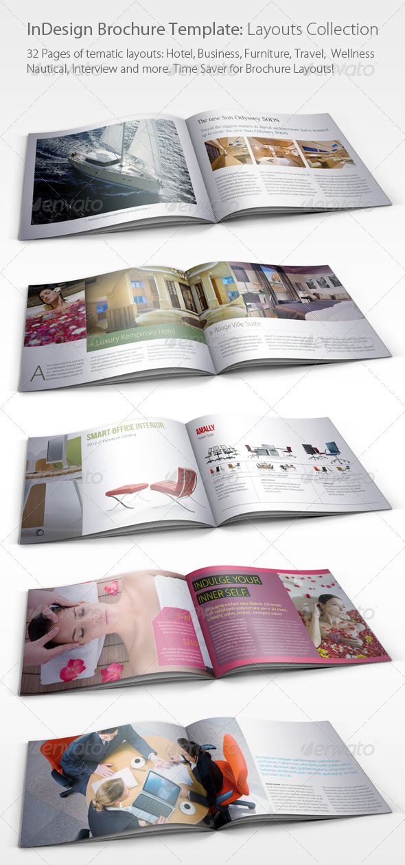 Brochure kiosk pics brochure layout indesign for Indesign templates brochure