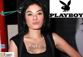 foto-foto bugil dan telanjang nikita mirzani di majalah playboy edisi terbaru