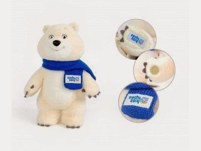 Sochi 2014 White Bear