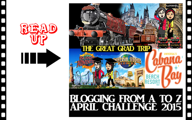 April Blogging From A to Z Challenge