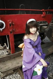Sakura Wars Kanzaki Sumire cosplay by Liuyijing