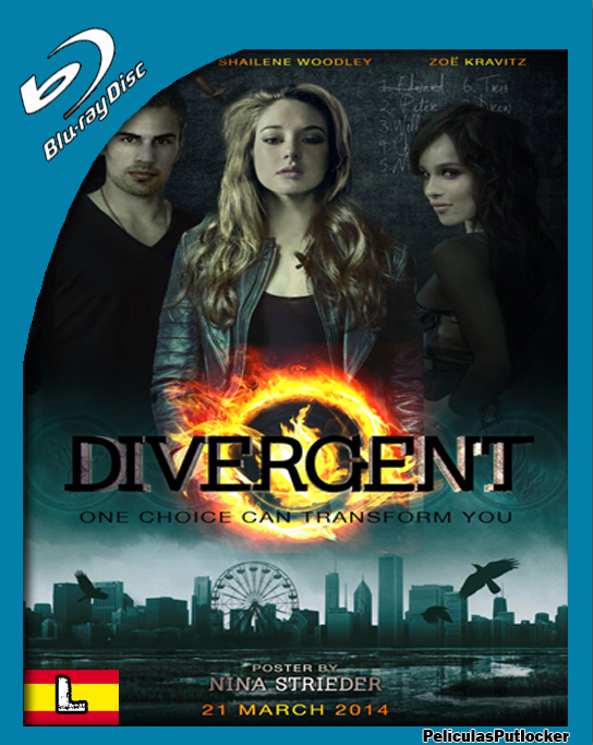 Divergente [BrRip 720p][Latino][FD-SD-MG]