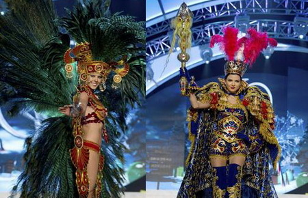 Kostum Nasional Miss Universe 2012