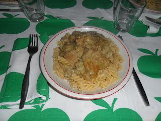 Recipe pasta with artichokes