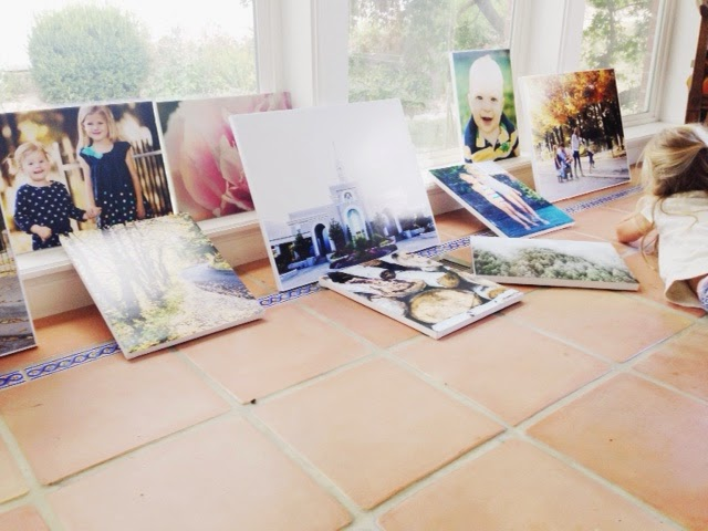 Do it yourself divas diy how to make large canvas prints for less canvas photos but if you compare prices these are great for your dollar finally i was able to print these photos and get them on my walls without solutioingenieria Image collections
