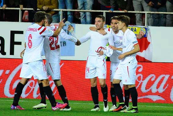 Crónica Sevilla FC 3 Vs RCD Espanyol 2