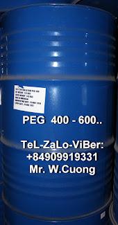 PEG 400 ; PEG 600 ; polyethylene glycol