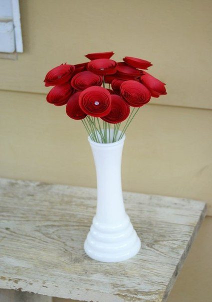 Цветы своими руками в вазы