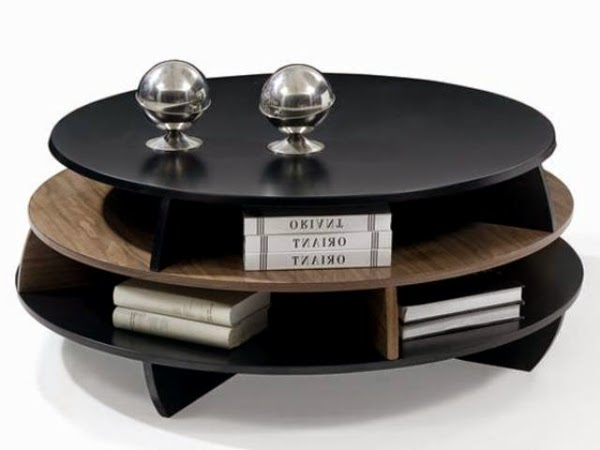 20 Creative Black Coffee Tables Made Of Wood And Gl - Black Round Coffee Tables CoffeTable