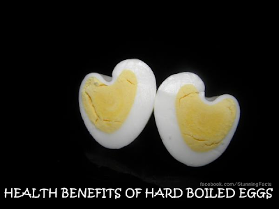 HEALTH BENEFITS OF HARD BOILED EGGS