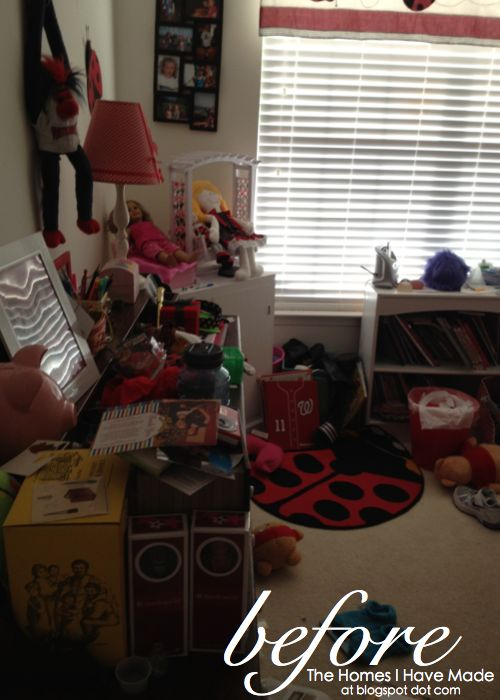 but i am not one to be scared off by a little clutter okay a lot