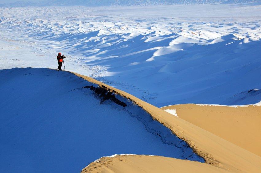 Immer durch die Wüste