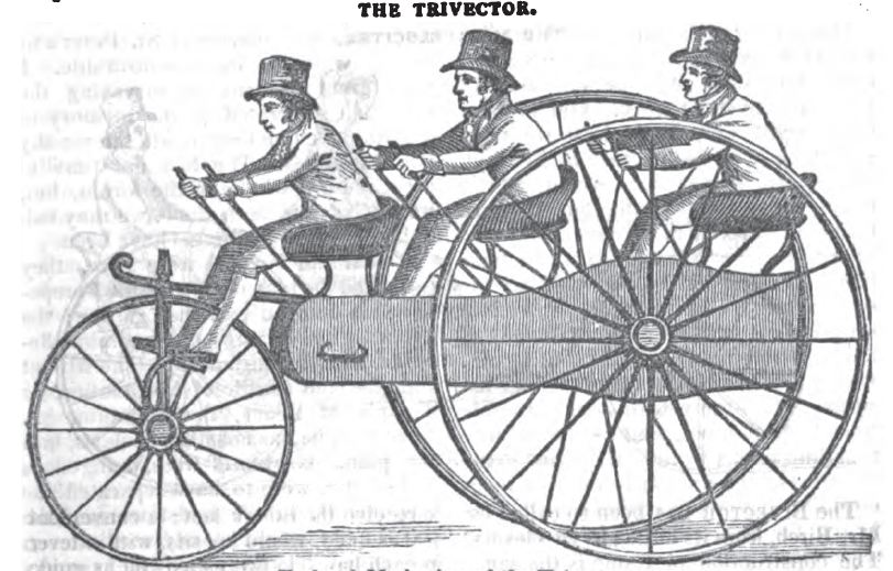 "The ""Trivector"" tricycle"