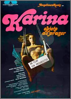 Download - Karina, Objeto de Prazer - DVDRip - AVI - Nacional
