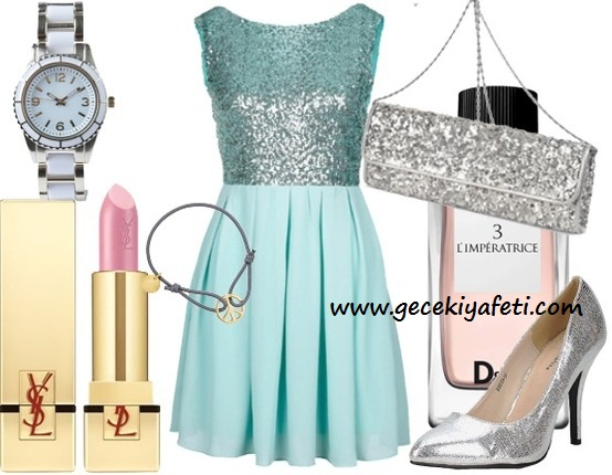 2013 Gece Elbiseleri Kombin Önerileri