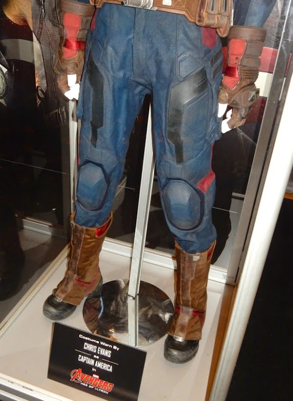Captain America leg costume detail Avengers Ultron
