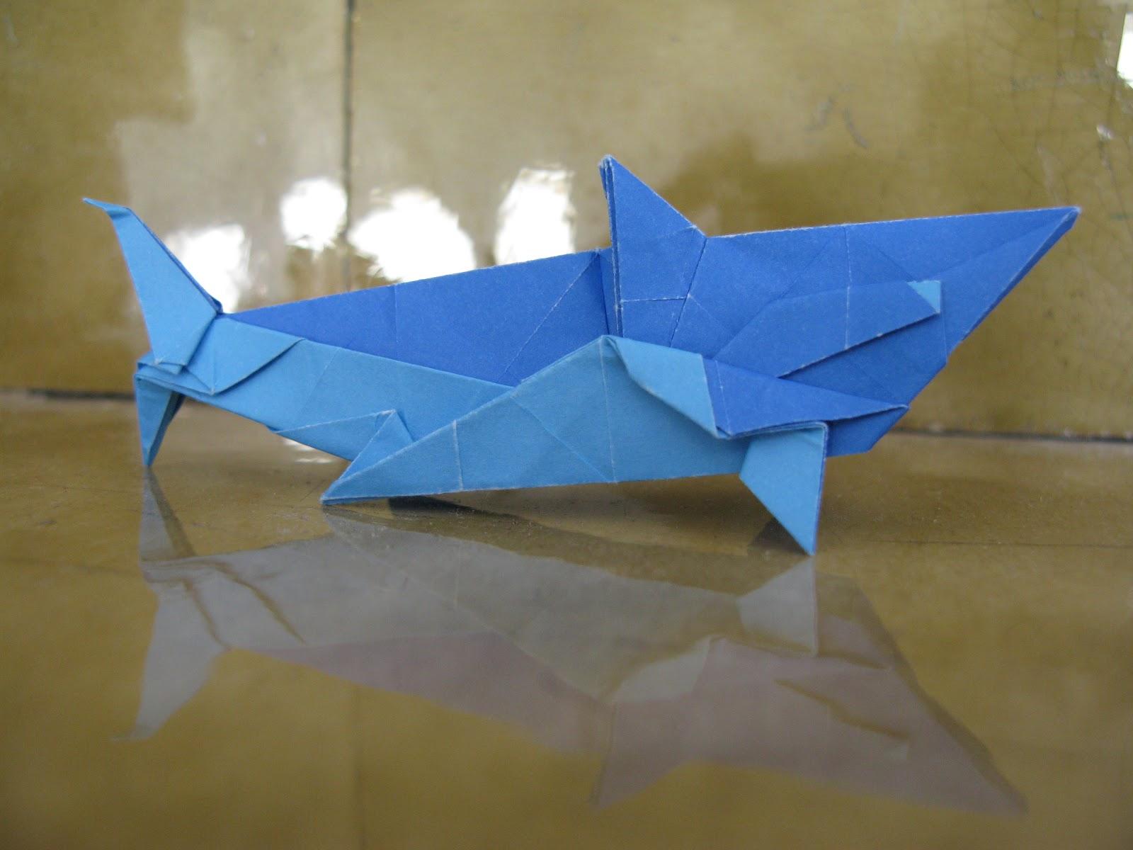Origami A Week Week 5 Great White Shark