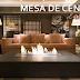 Mesas de centro com lareiras – confira salas lindas com essa super tendência!