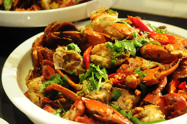 crab buffet review singapore spice brasserie