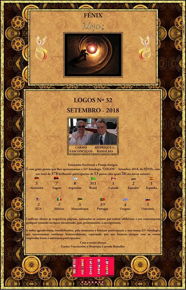 """LOGOS"" 32 SETEMBRO 2018:"