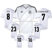 Camisetas Futbol BaratasCamiseta Germany 1 Equipacion 201213