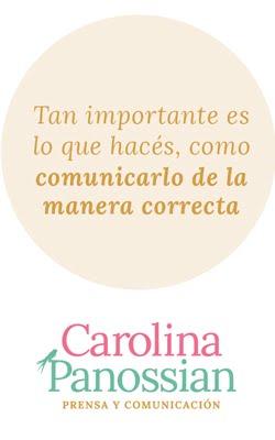 Carolina Panossian Prensa y Comunicación