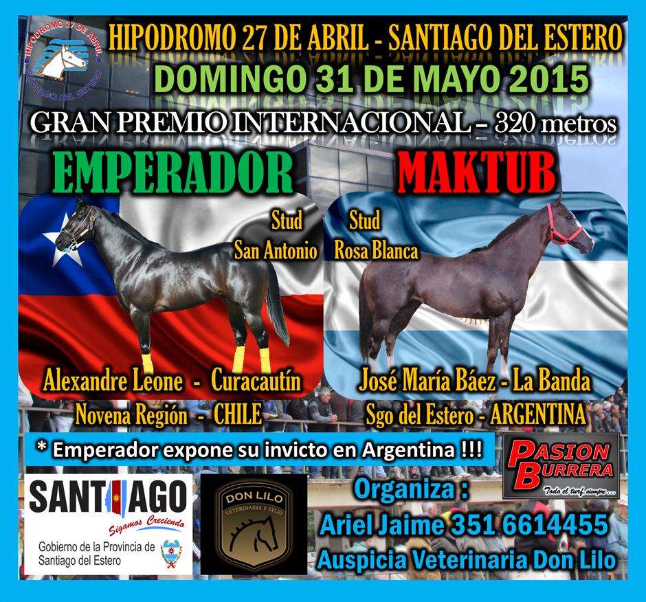 HIPODROMO 27 DE ABRIL - 31 DE MAYO