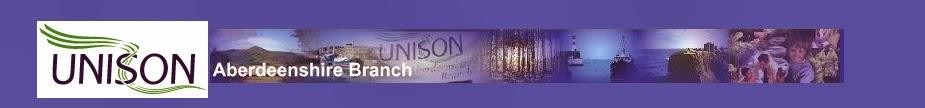 Aberdeenshire UNISON blog