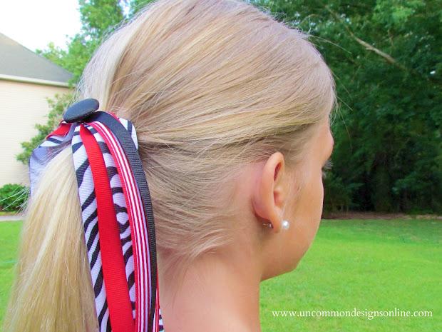 make spirit and cheer ribbons