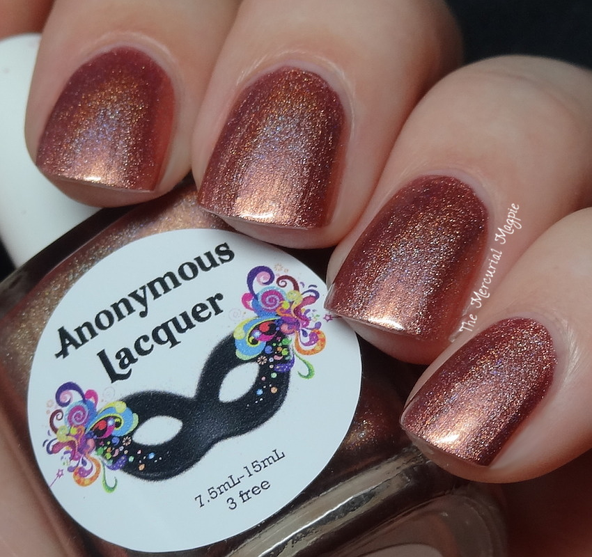 Anonymous Lacquer Buscemi Rose - Exclusive for Ella Ann Cosmetics