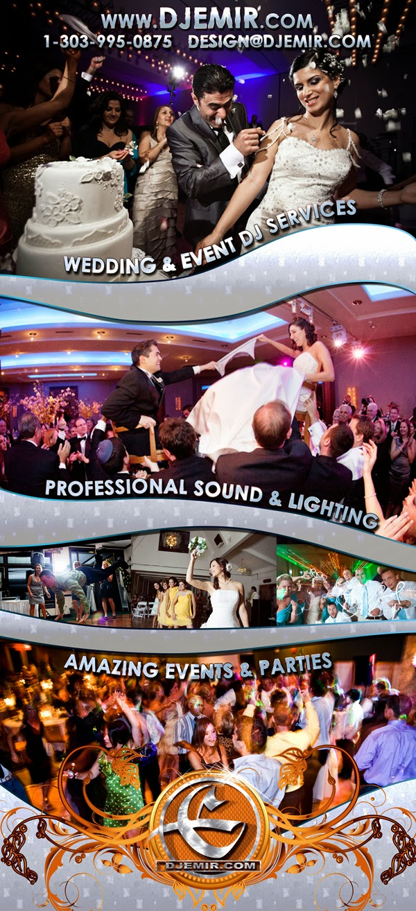 Amazing Denver Colorado Wedding DJ Services