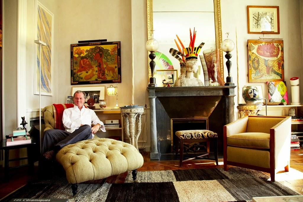 Jacques Grange Interiors.