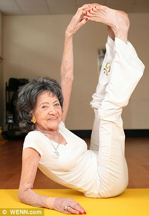 Welcome to Boma Peters Blog: The 93-year-old yoga teacher