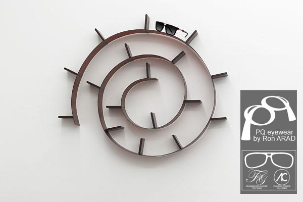 franklin optique opticiens parisiens vanessa craque pour pq eyewear x ron arad. Black Bedroom Furniture Sets. Home Design Ideas