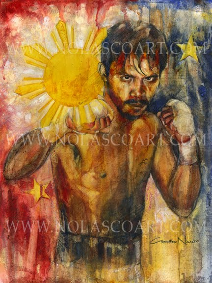 Manny Pacquiao by Cristopher Nolasco