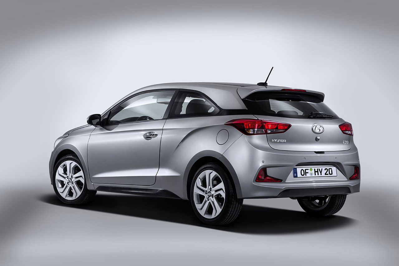 Hyundai i20 rear side