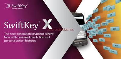 SwiftKey X Beta Android Keyboard App