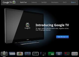 Google TV site goes live