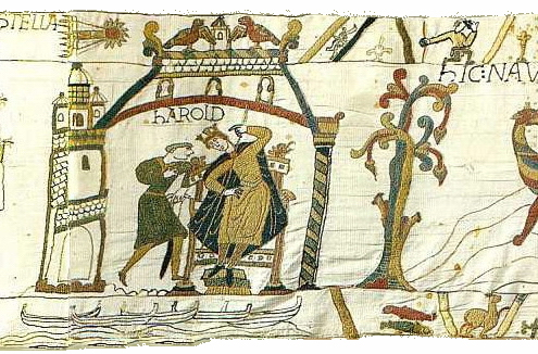 bayeux embroidery, bayeux tapestry,