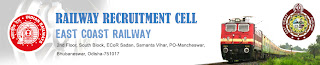 EAST COAST RAILWAY Bhubaneswar Recruitment 2013