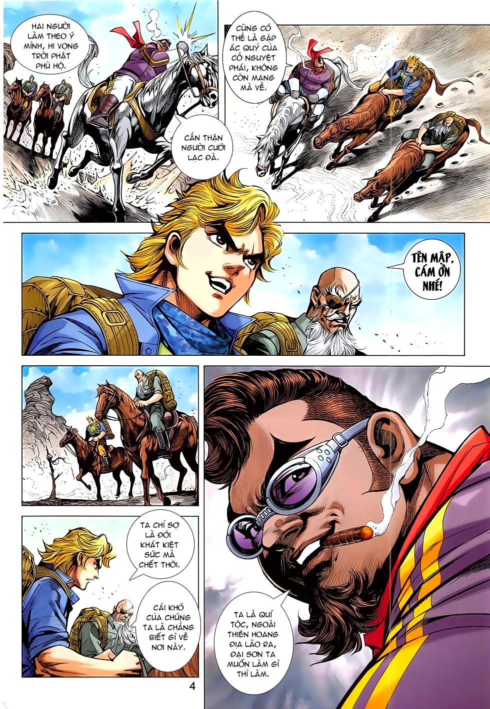 Tân Tác Long Hổ Môn chap 793 Trang 4 - Mangak.info