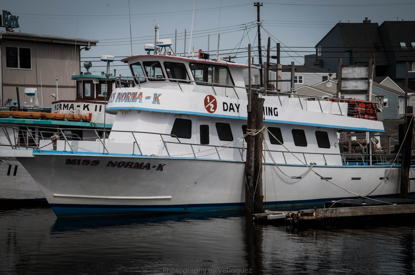 Steven vel squez granting sirenity jersey strong for Point pleasant fishing boats