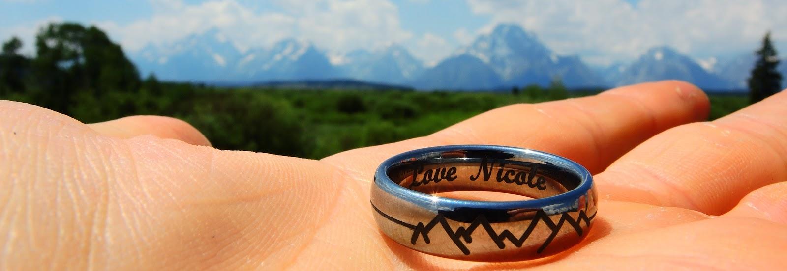 Mountain Wedding Bands 32 Lovely  the mountain range