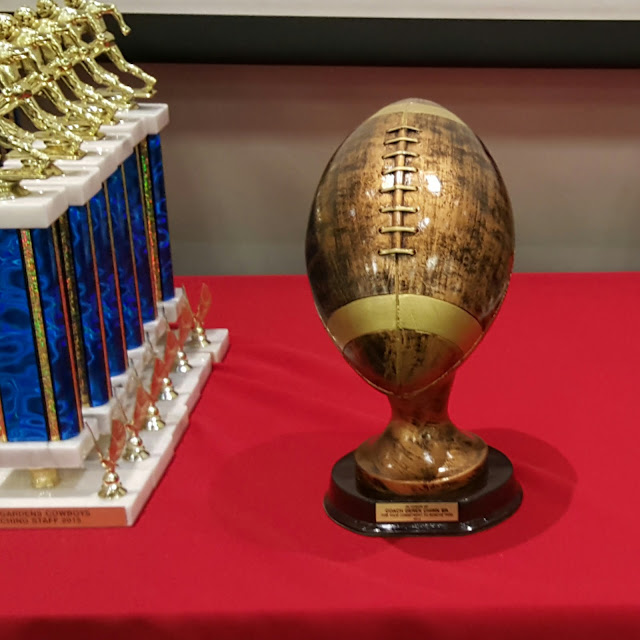 football trophy, player trophies, Hollywood theme